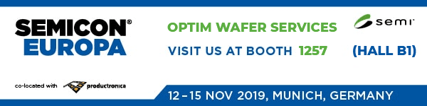 Optim Wafer Services at Semicon Europa 2019