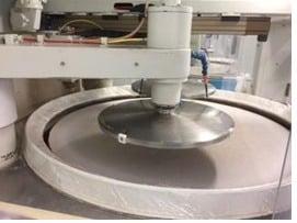 smart wafer polishing factory
